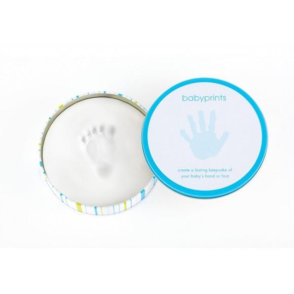 Pearhead Babyprints Κουτί για αποτύπωμα Μπλέ