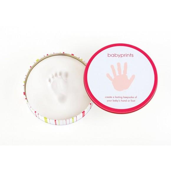 Pearhead Babyprints Κουτί για αποτύπωμα Ροζ