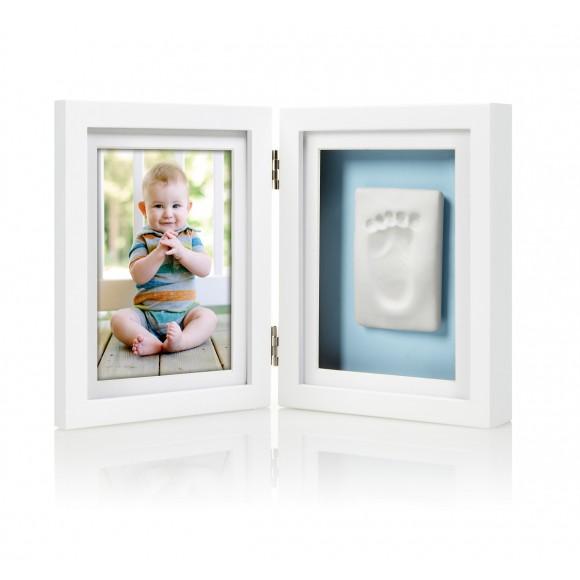 Pearhead Κορνίζα Αποτύπωμα Λευκή  Babyprints Desk Frame