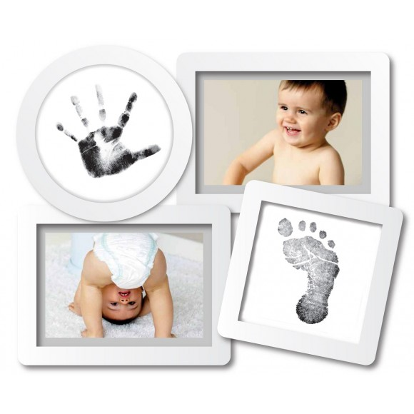 Pearhead Κορνίζα Κολάζ Λευκή Babyprints Collage Frame