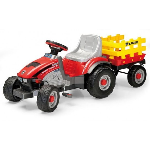 PegPerego Ποδοκίνητο Τρακτέρ Mini Tony Tigre 2+ Ετών