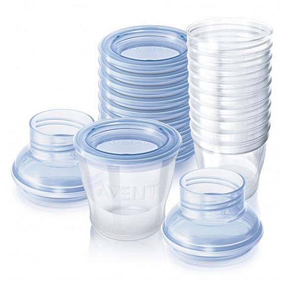 Philips Avent Δοχεία Αποθήκευσης Μητρικού Γάλακτος Χωρίς BPA 10τμχ - SCF618/10