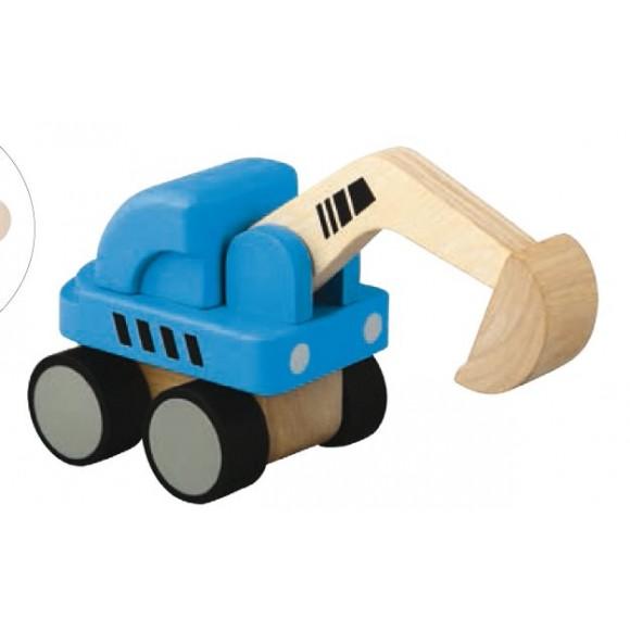 Plan Toys Εκσκαφέας Ξύλινος 6316