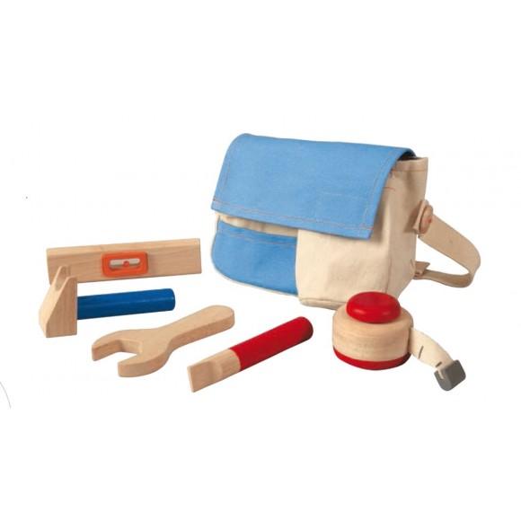 Plan Toys Εργαλειοθήκη με Ξύλινα Εργαλεία 3462