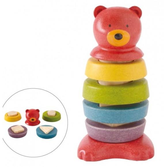 Plan Toys Ξύλινο Αρκουδάκι Ταξινόμησης 5622