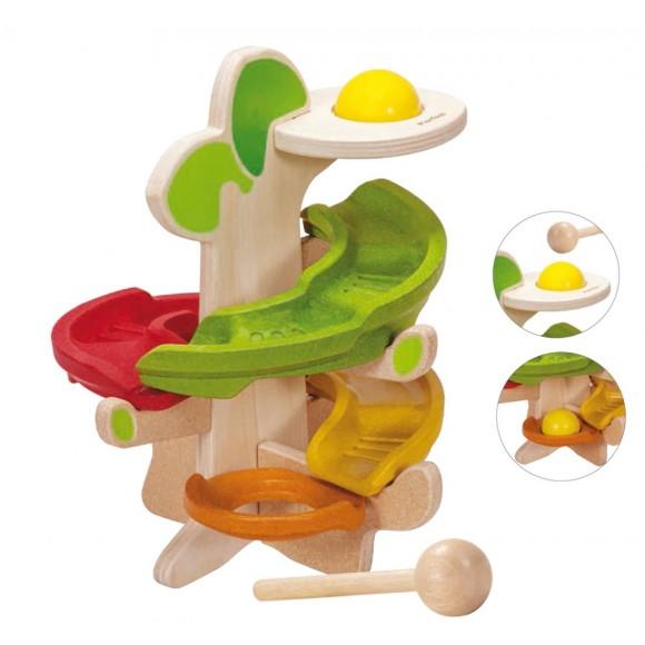 Plan Toys Ξύλινο Δέντρο Kλίκ-Kλάκ 5630