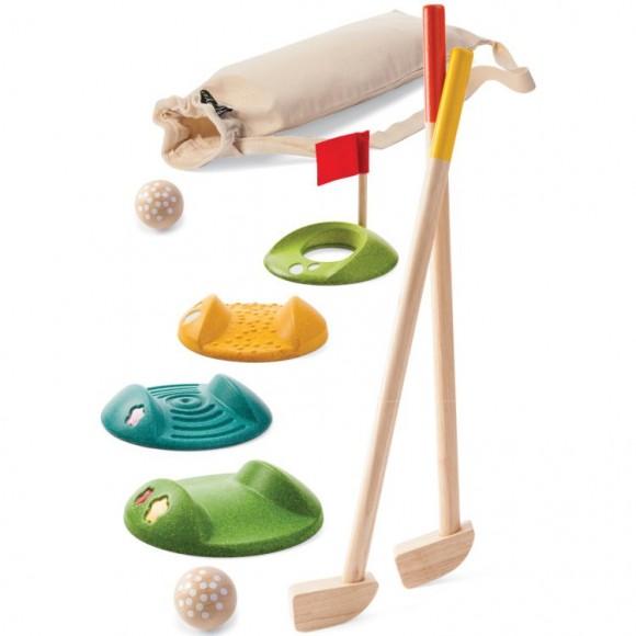 Plan Toys Ξύλινο Γκόλφ Ομαδικό 5683