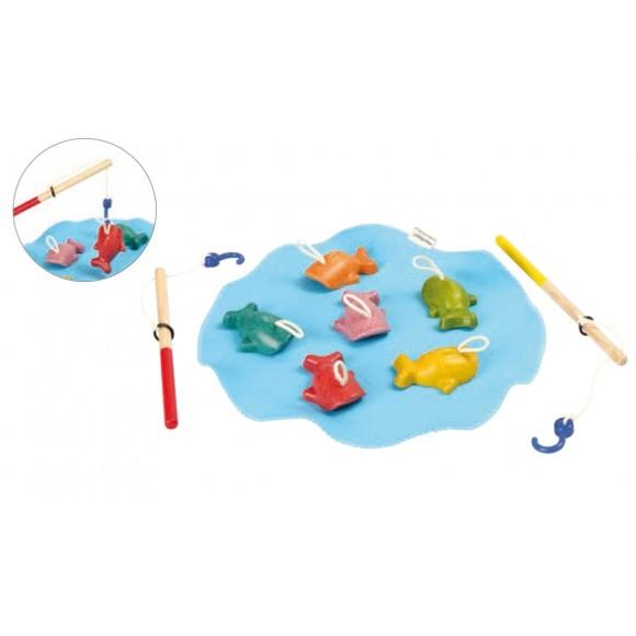 Plan Toys Ξύλινο Παιχνίδι Ψάρεμα 5629