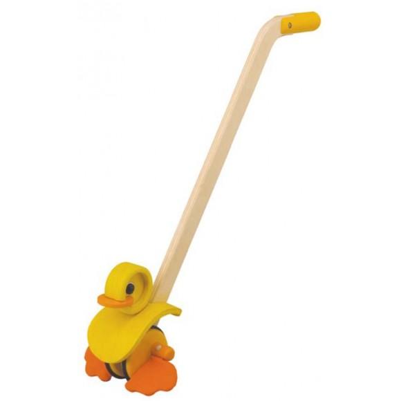 Plan Toys Ξύλινο Παπάκι που Κινείται 5155