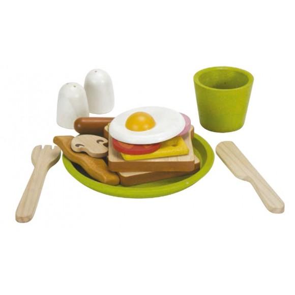 Plan Toys Ξύλινο Σετ Πρωινού 3602