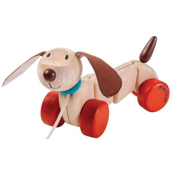 Plan Toys Ξύλινο Σκύλάκι Μεγάλο