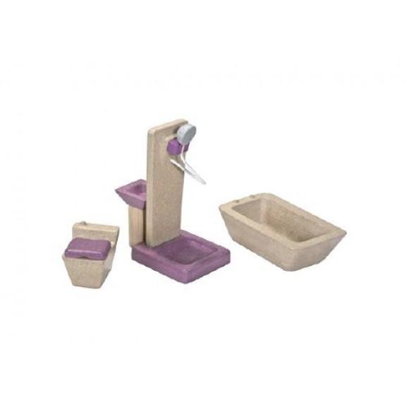 Plan Toys Μπάνιο για Κουκλόσπιτο 7603
