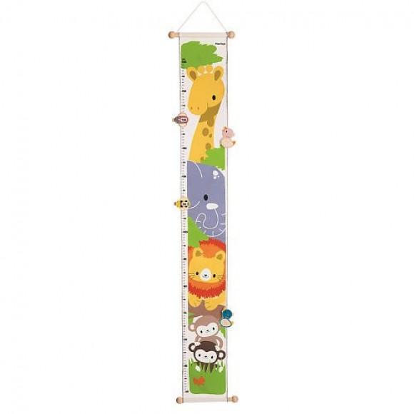 Plan Toys Υφασμάτινο Αναστημόμετρο Jungle Height 5191