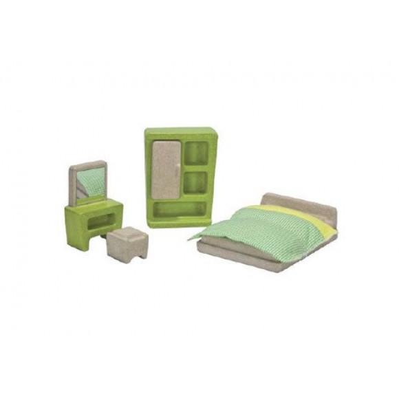 Plan Toys Υπνοδωμάτιο για Κουκλόσπιτο 7607