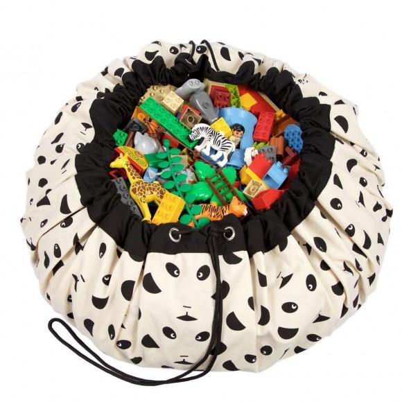 Play&Go Στρώμα Παιχνιδιού και Τσάντα 2 σε 1 Panda