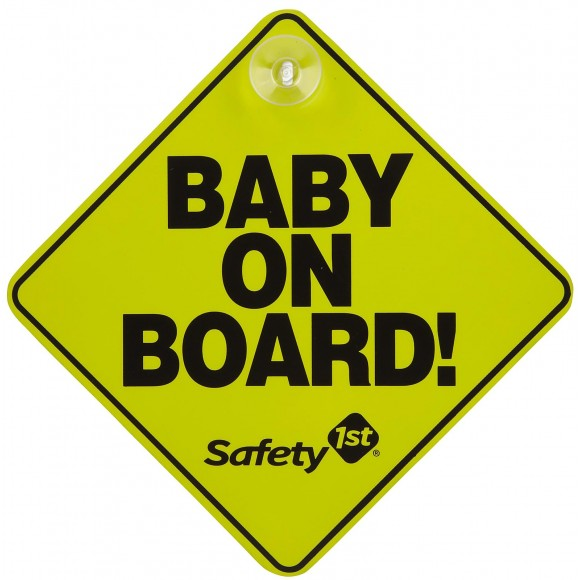 Safety 1st Baby on Board Κίτρινο