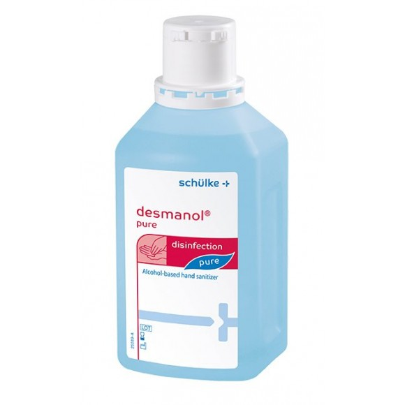 Schulke Desmanol Pure Υγρό Απολυμαντικό Χεριών 1Lt με αντλία