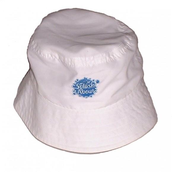 Splash About Καπέλο με Δείκτη Προστασίας SPF 50+ Άσπρο 53-58εκ Medium