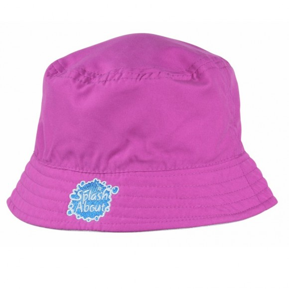 Splash About Καπέλο με Δείκτη Προστασίας SPF 50+ Ροζ 48-52εκ Small