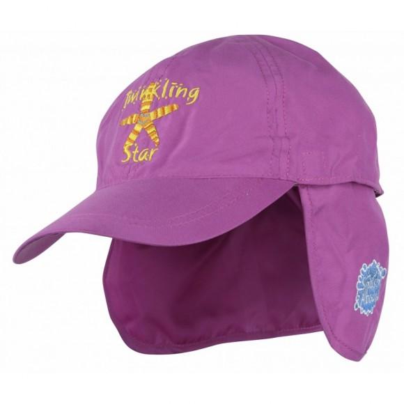 Splash About Καπέλο με Προστασία για το Λαιμό Ροζ 53-58εκ Medium