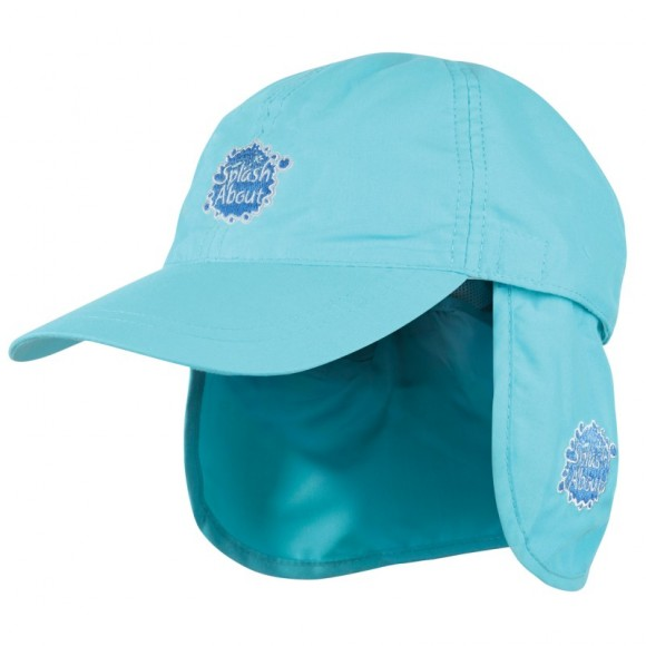 Splash About Καπέλο με Προστασία για το Λαιμό Τιρκουάζ 53-58εκ Medium