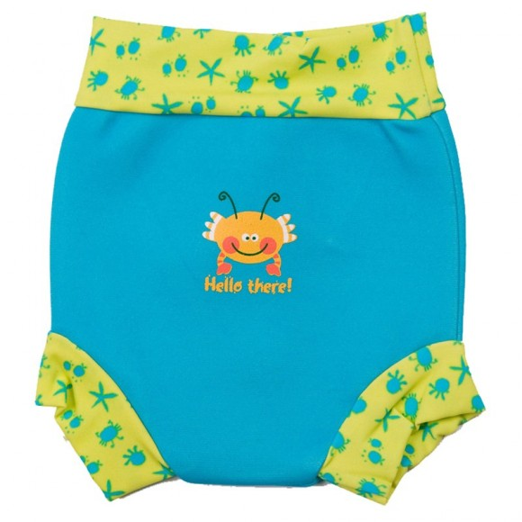 Splash About Μαγιό-Πάνα Happy Nappy Τιρκουάζ 3-8 μηνών