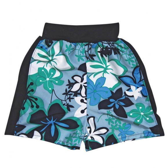 Splash About Μαγιό-Πάνα Βερμούδα UPF50+ με Λουλούδια 12-24 μηνών
