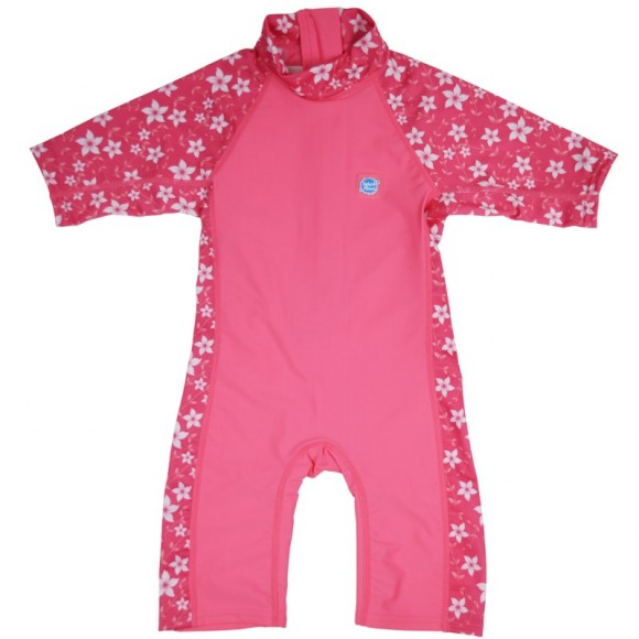 Splash About Ολόσωμο Μαγιό UV Toddler UPF50+ Pink Blossom 2-4 ετών