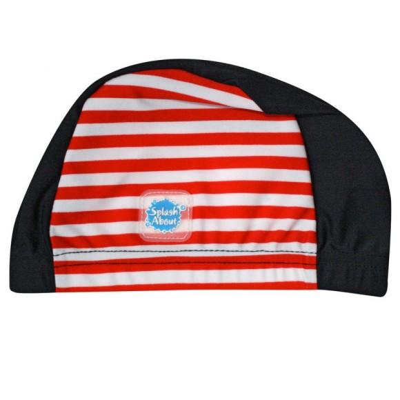 Splash About Σκουφάκι Κολύμβησης SPF50+ Μπλε με Κόκκινες & Άσπρες Ρίγες