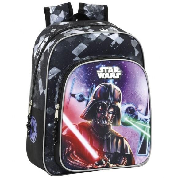 Star Wars Τσάντα Πλάτης Νηπίου Δημοτικού Saga 27x33x10cm