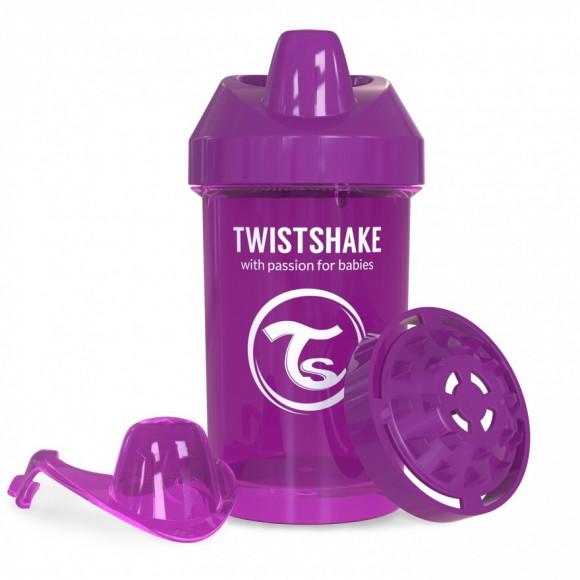 Twistshake Κύπελλο Μίξερ Φρούτων Crawler Cup 300ml 8+ μηνών Μωβ