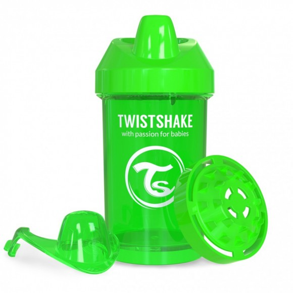 Twistshake Κύπελλο Μίξερ Φρούτων Crawler Cup 300ml 8+ μηνών Πράσινο