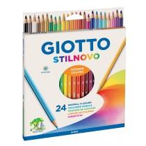 Giotto Stilnovo Ξυλομπογιές Λεπτές 24τμχ