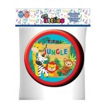 Πιάτα Χάρτινα 18εκ Jungle 6τμχ