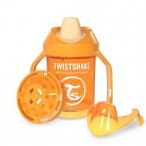 Twistshake Κύπελλο Μίξερ Φρούτων Mini Cup 230ml 4+μηνών Πορτοκαλί