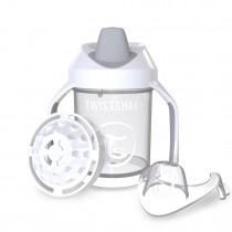 Twistshake Κύπελλο Μίξερ Φρούτων Mini Cup 230ml 4+μηνών Άσπρο