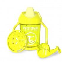 Twistshake Κύπελλο Μίξερ Φρούτων Mini Cup 230ml 4+μηνών Κίτρινο