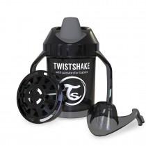Twistshake Κύπελλο Μίξερ Φρούτων Mini Cup 230ml 4+μηνών Μαύρο
