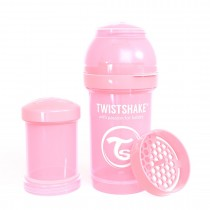 Twistshake Μπιμπερό Κατά των Κολικών 180ml Pastel Pink