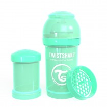 Twistshake Μπιμπερό Κατά των Κολικών 180ml Pastel Green