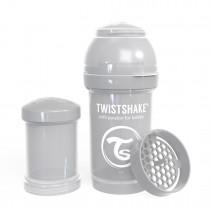 Twistshake Μπιμπερό Κατά των Κολικών 180ml Pastel Grey