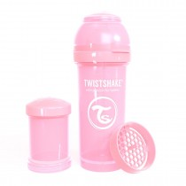 Twistshake Μπιμπερό Κατά των Κολικών 260ml Pastel Pink