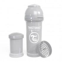 Twistshake Μπιμπερό Κατά των Κολικών 260ml Pastel Grey