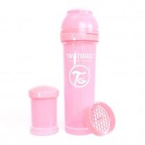 Twistshake Μπιμπερό Κατά των Κολικών 330ml Pastel Pink