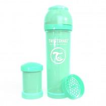 Twistshake Μπιμπερό Κατά των Κολικών 330ml Pastel Green