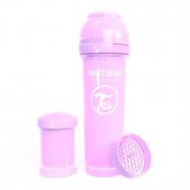 Twistshake Μπιμπερό Κατά των Κολικών 330ml Pastel Purple