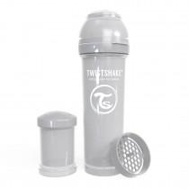 Twistshake Μπιμπερό Κατά των Κολικών 330ml Pastel Grey