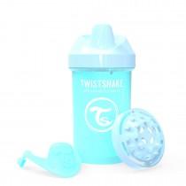 Twistshake Κύπελλο Crawler Cup 300ml 8+μηνών Pastel Blue με Μίξερ Φρούτων
