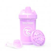 Twistshake Κύπελλο Crawler Cup 300ml 8+μηνών Pastel Purple με Μίξερ Φρούτων