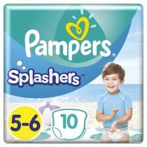 Πάνες-Μαγιό Pampers Splashers No 5-6, 10τμχ (14+kg)